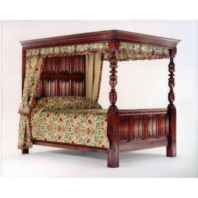Linenfold Bed