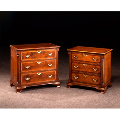 Georgian Chests of Drawers