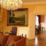 Gascoigne Knole sofa at Chateau de la Frediere