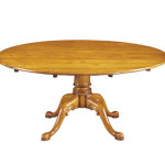 246B 64ins diam cherry table on pedestal base - low res