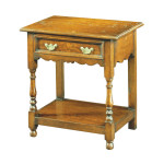 297 Oak Bedside table