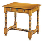 290 Bobbin side table in style circa 1660 shown in cherry