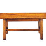240 Farmhouse Table shown in cherry