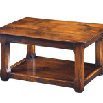 250 3ft Coffee Table with chamfer legs