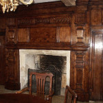 Fire surround for a circa 1650 Gloucestershire farmhouse