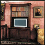 367 TV Bookcase - OPEN