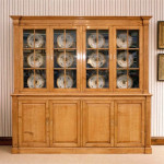 372A Light Oak Bookcase