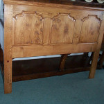 Ogee panelled headboard