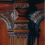 Tudor Bed Headboard DETAIL